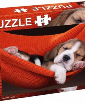 Sleeping puppy - puzzel 56 stuks - Tactic