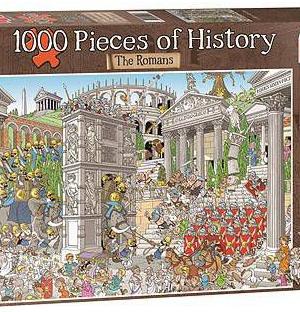 De romeinen - puzzel 1000 stuks - Jumbo 19203