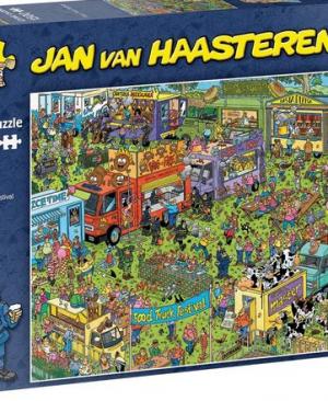 Food Truck Festival - puzzel 1500 stuks - Jan Van Haasteren - 20042