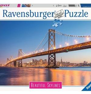 Beautiful skylines, San Francisco - puzzel 1000 stuks - Ravensburger 140831