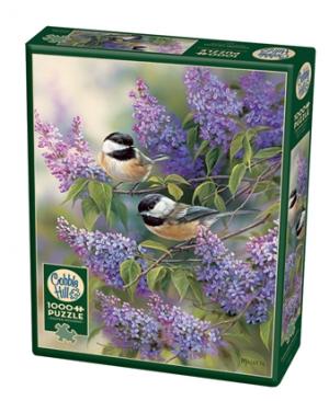 Chickadees and Lilacs - puzzel 1000 stuks - Cobble Hill - 80112