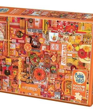 Orange - puzzel 1000 stuks - Cobble Hill - 80147