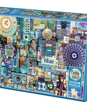 Blue - puzzel 1000 stuks - Cobble Hill - 80150