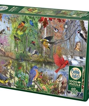 Birds of the Season - puzzel 1000 stuks - Cobble Hill - 80243