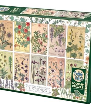 Botanicals by Verneui - puzzel 1000 stuks - Cobble Hill - 80282