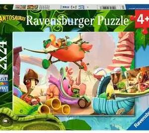 Rocky, Bill, Mazu en Tine - puzzel 2x24 stuks - Ravensburger 051267