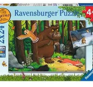 Wandelen in het donkere bos - puzzel 2x24 stuks - Ravensburger 052271